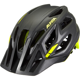 Alpina Garbanzo Casco, black-neon-yellow